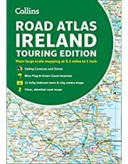 Road Atlas Ireland: Touring edition A4 Paperback