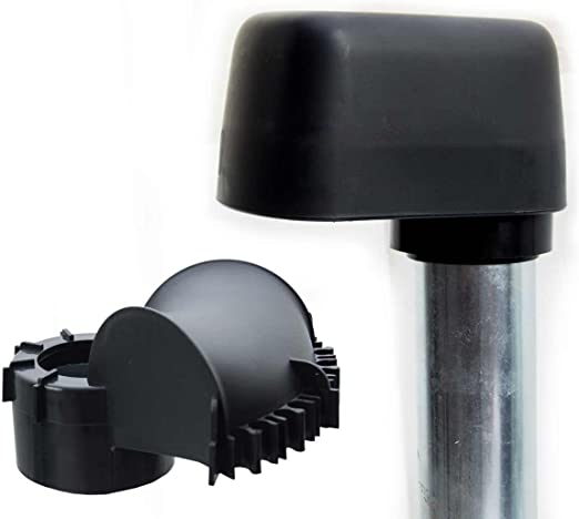 Mast Cap With Cable Guide Large Suitable For Poles And Rafter Holder With 48 Mm And