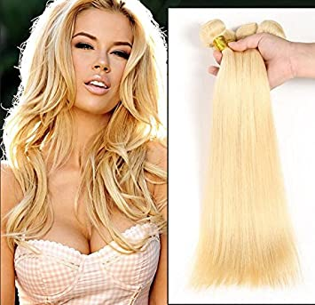 Amazon wigsforyou7a russian blonde virgin hair weaves 1 pc wigsforyou7a russian blonde virgin hair weaves 1 pc lot peruvian 613 human hair straight pmusecretfo Gallery
