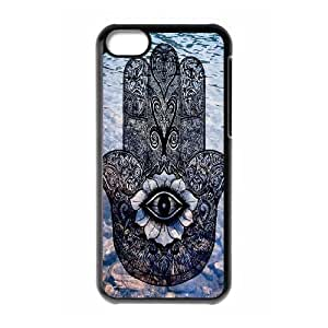 Evil Eye Hamsa The Unique Printing Art Custom Phone Case for Iphone 5C,diy cover case ygtg610558
