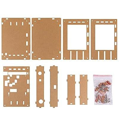 Gamelec DSO138 Digital Oscilloscope Acrylic Case DIY Cover Shell Kit