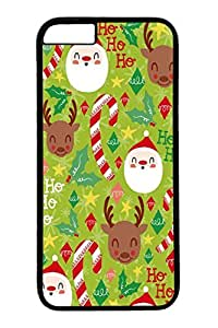 iPhone 6 Case, Personalized Unique Design Covers for iPhone 6 PC Black Case - Merry Christams05