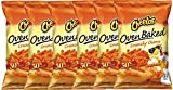 Cheetos Over Baked Crunchy Cheese Gluten Free Snacks 7.63 Oz Snack Care Package for College, Military, Sports (6)