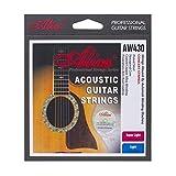 Alice Super Light 6-Strings Coated 011 Acoustic Guitar Strings, 2 Pack