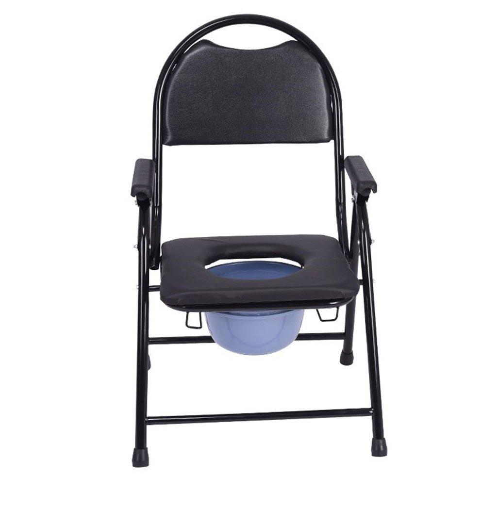 トイレの椅子、折りたたみ式の滑り止めそれはバスルームを移動することができます老人の妊婦シャワーチェア B078RDYPZ7