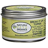 Natura Petz Organics BREAK2DOGTOPPER Break It Up! Flavored Stone Eliminator Meal Topper All Life Stage Dogs