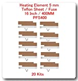 20 Kits Replacement Elements for Impulse Sealer