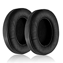BlueFire Replacement Earpad Ear Pad Cushions For Beats by Dr. Dre Solo 2.0 Wired (Black)