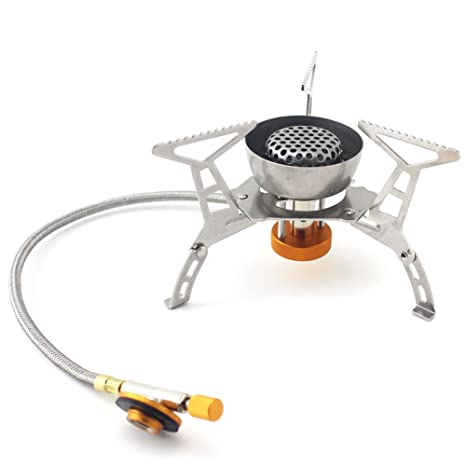Starcrafter Estufa Plegable que Acampa/Cocina de Acero a Prueba de Viento Barbacoa de Gas