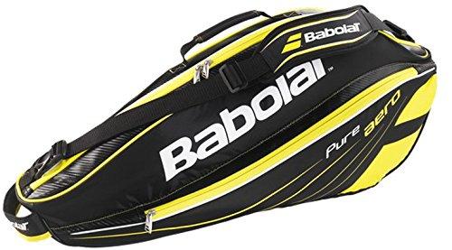 Babolat Schlägertaschen Pure Aero Racket Holder X3, Schwarz, 75 x 35 x 33 cm, 33 Liter, 751103-113