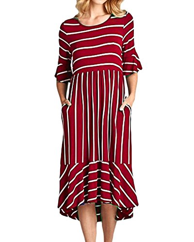 maxi dress and hat for wedding - 4