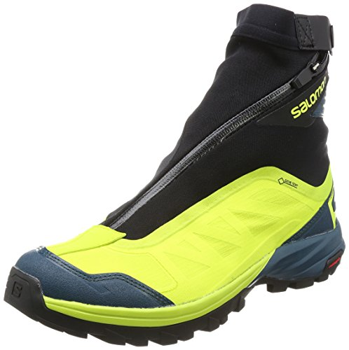 Salomon Men's Outpath Pro GTX Hiking Boots, Green, Mesh, Textile, 9.5 M by Salomon