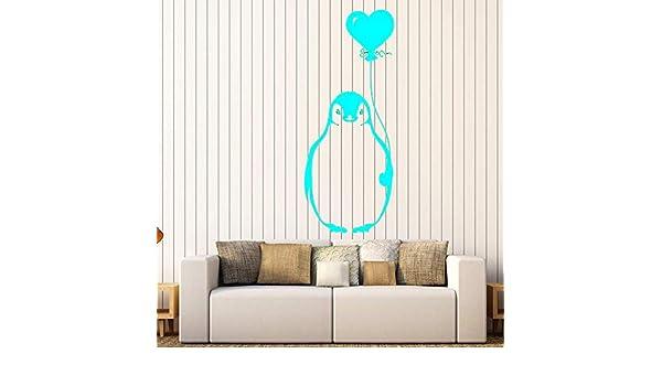 Vinilo Tatuajes de pared Pájaro pingüino ártico de dibujos ...