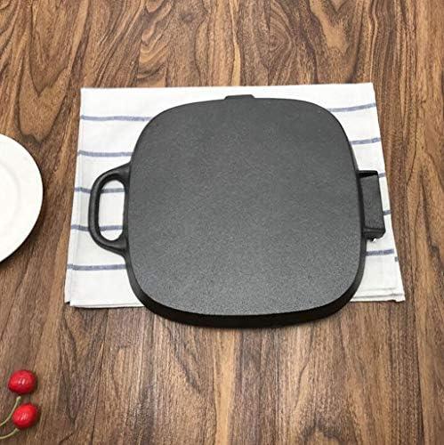 16LYP Friture barbecue pot poisson frit Steak épaissi fonte des ménages pot poêlé cuisson pan pan