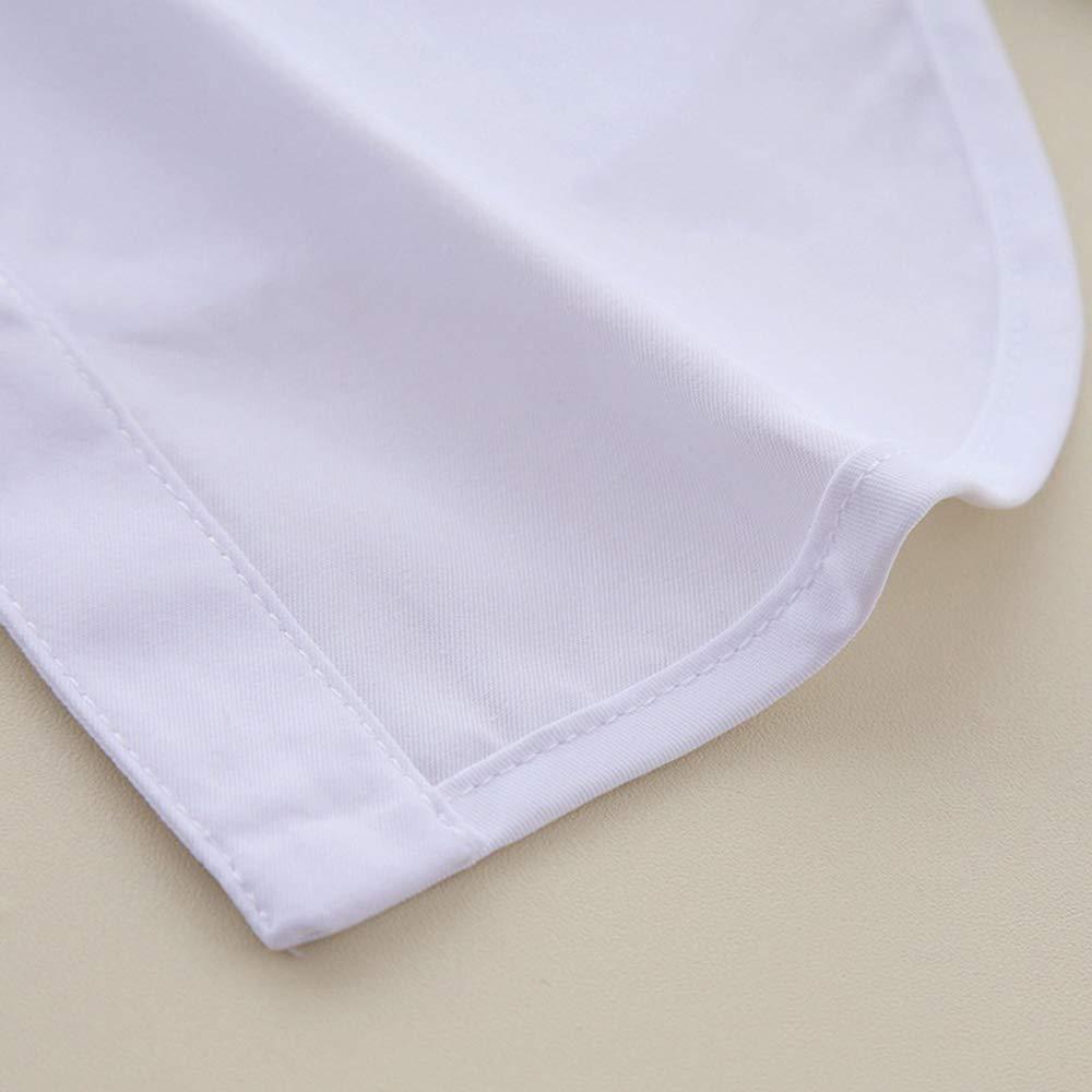 Vertvie Damen Abnehmbare Kragen Krawatte H ä lfte Shirt Bluse One Size )  UP0DX1J7Z 6864555e39