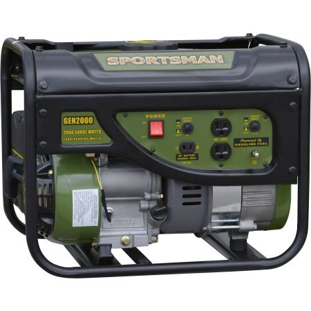 Sportsman Gasoline 2000W Portable Generator, Two 120V outlet