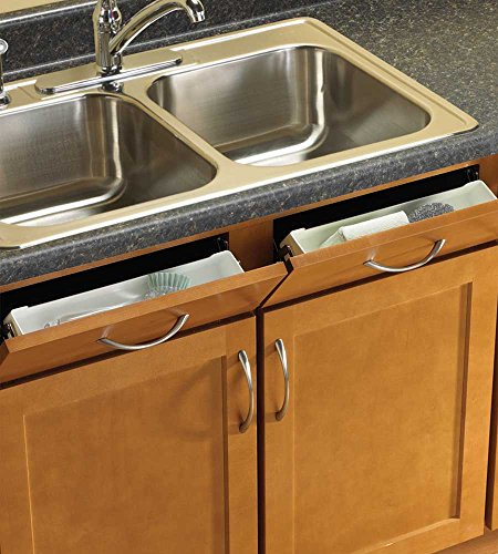 K&A Company Sink Front Storage Tray Kit (Set of 2), 11'' x 3'' x 2'' x 3 lbs, 11 Inch by K&A Company (Image #3)