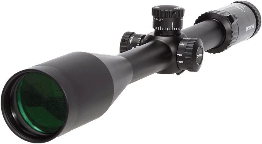 Barra Rifle Scope, Hero MP 12-60×56 Made in Japan for Hunting and Tactical Shooting Long Range Precision Mil Dot Reticle