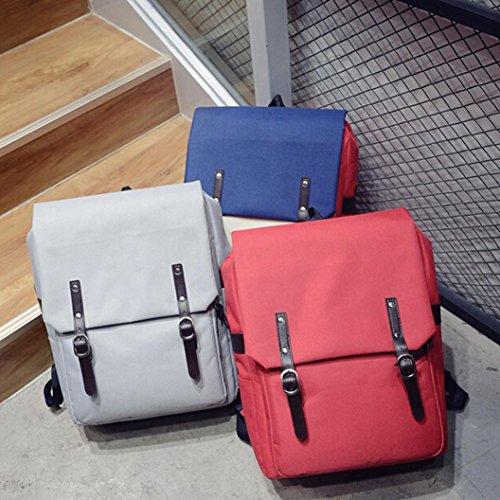 BZLine® Unisex Casual Wandern Notebook Tasche Rucksack, 30cm*13cm*40cm Blau