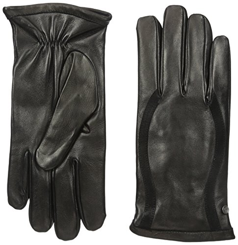 Armani Jeans Men's Leather and Suede Glove