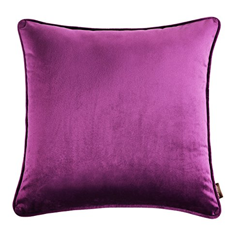 nioBomo Super Soft Solid Decorative Throw Pillow Case Cushion Cover 18