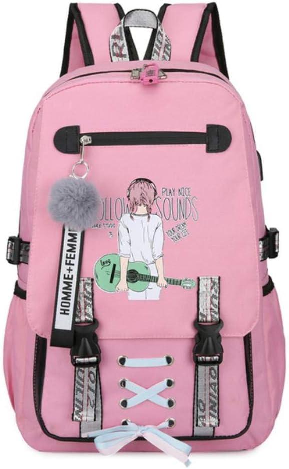 HYJ Large School Bags for Teenage Girls Backpack Women