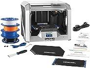 Dremel 3D40 Flex EDU 3D Printer and Education Accessories (Lesson Plans, Professional Development Course, Flexible Build Plat
