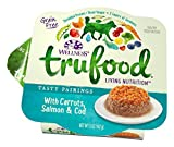Wellness TruFood Tasty Pairings Natural Grain Free Wet Raw Dog Food, Carrots, Salmon & Cod, 5-Ounce Cup by Wellness Natural Pet Food