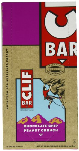 Clif Bars: Chocolate Chip Peanut Crunch