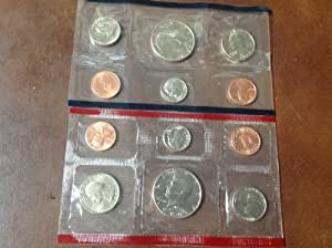 1989 Complete United States US Mint Coin Set