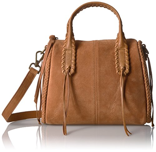 Lucky Myra Small Crossbody, dark camel, One Size by Lucky Brand