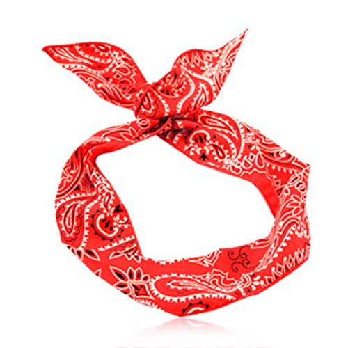 (Printing/ rabbit ears headband/Bow headband tiara color-A)