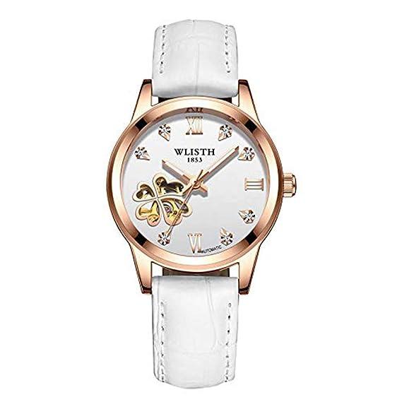 Relojes mecánicos Hermoso Reloj de Mujer con Forma de
