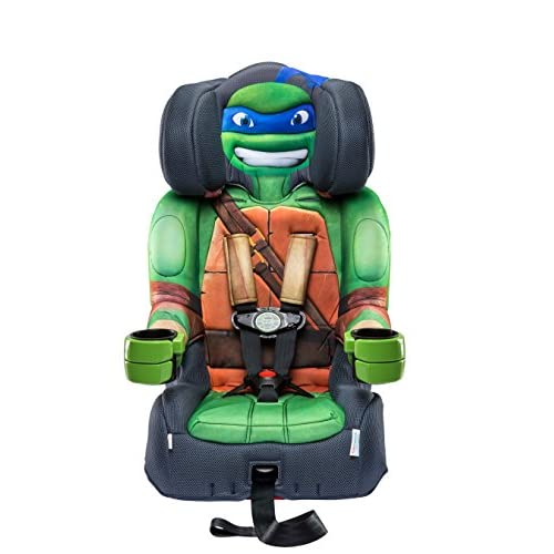 Nickelodeon KidsEmbrace Combination Toddler Harness Booster Car Seat, Teenage Mutant Ninja Turtle Leo