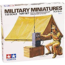 Military Miniatures - Tent Set - 1:35 Scale Military - Tamiya