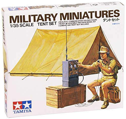 Military Miniatures - Tent Set - 1:35 Scale Military - Tamiya