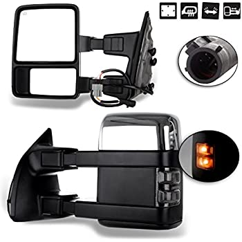 yitamotor towing mirrors for ford 1999 2007. Black Bedroom Furniture Sets. Home Design Ideas