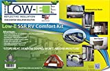 ESP Low-E® SSR RV Comfort Kit Foil Finish(Includes 4' x 25' 100 sq ft Low-E Insulation & 25' Foil Tape) Multipurpose Insulation for your RV