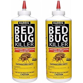Amazon Com Harris Bed Bug Powder Diatomaceous Earth Harris Bed
