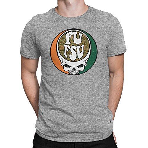 Miami Hurricanes Fan T-Shirt, FU FSU by Rival Gear (3X)