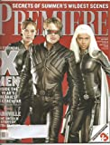 Premiere Magazine July 2000 X-Men cover-Famke Janssen, James Marsden, Halle Berry