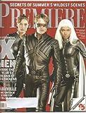 Premiere Magazine July 2000 X-Men cover-Famke Janssen, James Marsden, Halle Berry