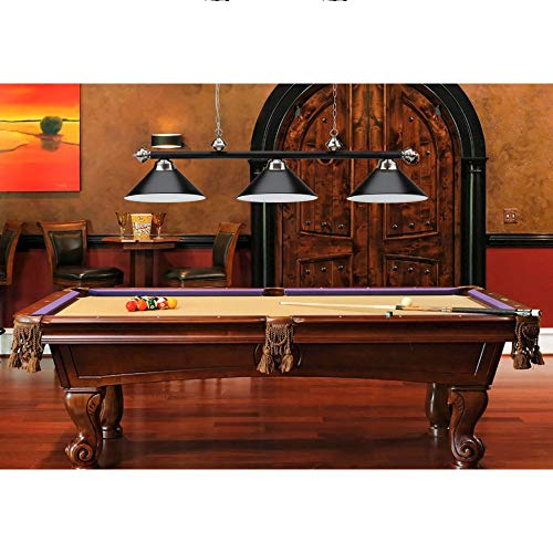 56-Inch Billiard Light for 7'/8'/9' Pool Tables((Several Colors Available)) (Black) by GSE Games & Sports Expert (Image #1)