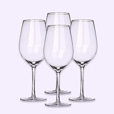 WYK cristal gobelet en cristal verre à vin rouge ensemble de 4 cadeaux à la main en verre clair cristal sans plomb de style italien soufflé à la main