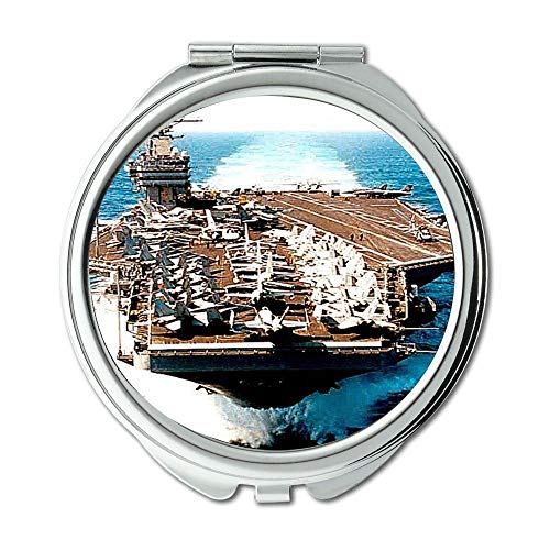Yanteng Aircraft Carrier,Mirror,Makeup Mirror,Fighter,Pocket Mirror,Portable Mirror]()