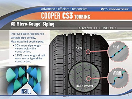 cooper cs3 touring radial tire 205 65r15 94h vehicles. Black Bedroom Furniture Sets. Home Design Ideas