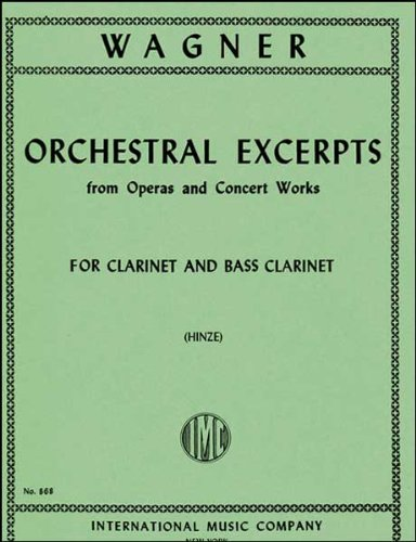 Download Orchestral Excerpts for Clarinet (IMC868) pdf