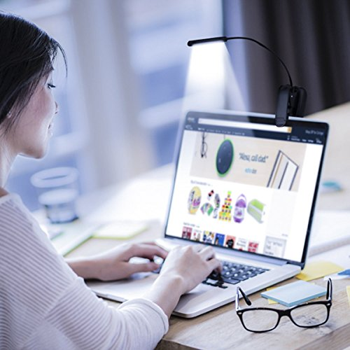 LED-Reading-Light-Rechargeable-5-LED-Book-Light-3-Level-Brightness-Cool-and-Warm-and-Flexible-Easy-Clip-On-Reading-Lamp-Brightness-Eye-Care-Light-for-Night-Reading-Perfect-for-Bookworms-Kids