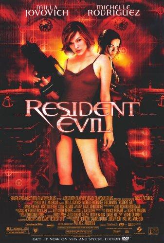 - Resident Evil Poster Movie D 11x17 Milla Jovovich Michelle Rodriguez Colin Salmon Eric Mabius