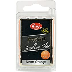 Viva Decor Pardo Jewelry Clay, 56g, Neon Orange